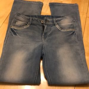 Girls Faded glory jeans